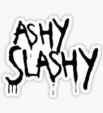 Ashy Slashy! Sticker