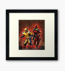 comic Framed Print