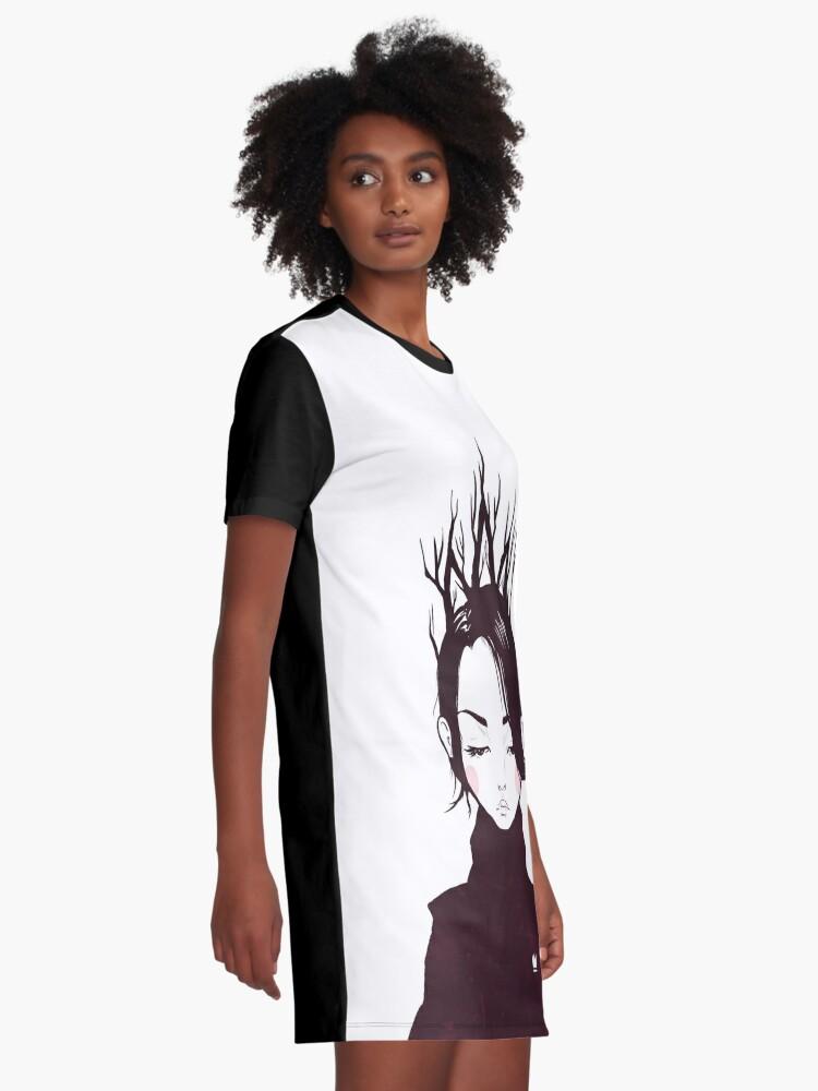 Alternative Ansicht von Waldkönigin T-Shirt Kleid