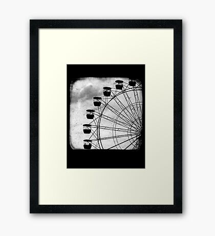 Ferris Wheel - TTV Framed Print