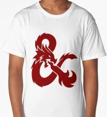DnD logo (Red) Long T-Shirt