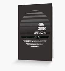 Inverted World Greeting Card