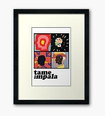 TAME IMPALA - HEADS Framed Print