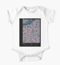 USGS TOPO Map Idaho ID Parker 20101117 TM Inverted Kids Clothes