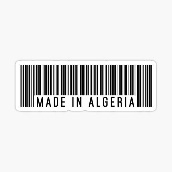 Made In Algeria Sticker