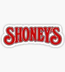 We never left the Shoney's! Sticker