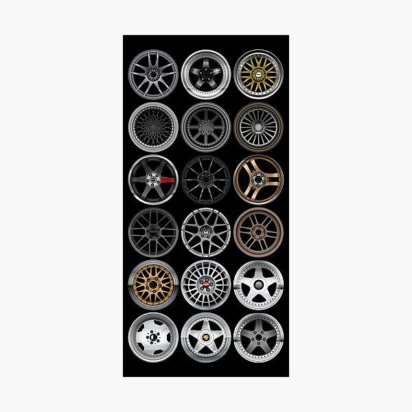Wheels Photographic Print