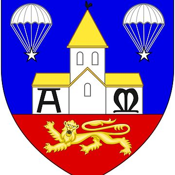 Sainte-Mère-Église (Normandy) - 505th Parachute Infantry Regiment by wordwidesymbols