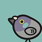 Extremely Concerned Pigeon, Birb, Borb, Berb, Beeb, Blub, Blob, Burb by BountifulBean
