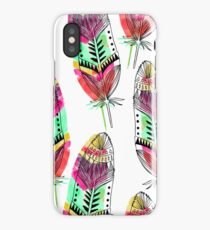 Hippie Feathers iPhone Case