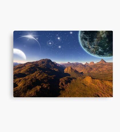 Uncharted Location # 2 Canvas Print
