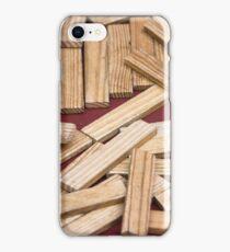 wooden toys for children iPhone Case/Skin