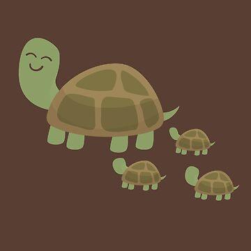 Momma Tortoise by amedeea