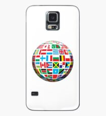 World, Flags of the Globe, Flags, Globe, Peace, Global Case/Skin for Samsung Galaxy