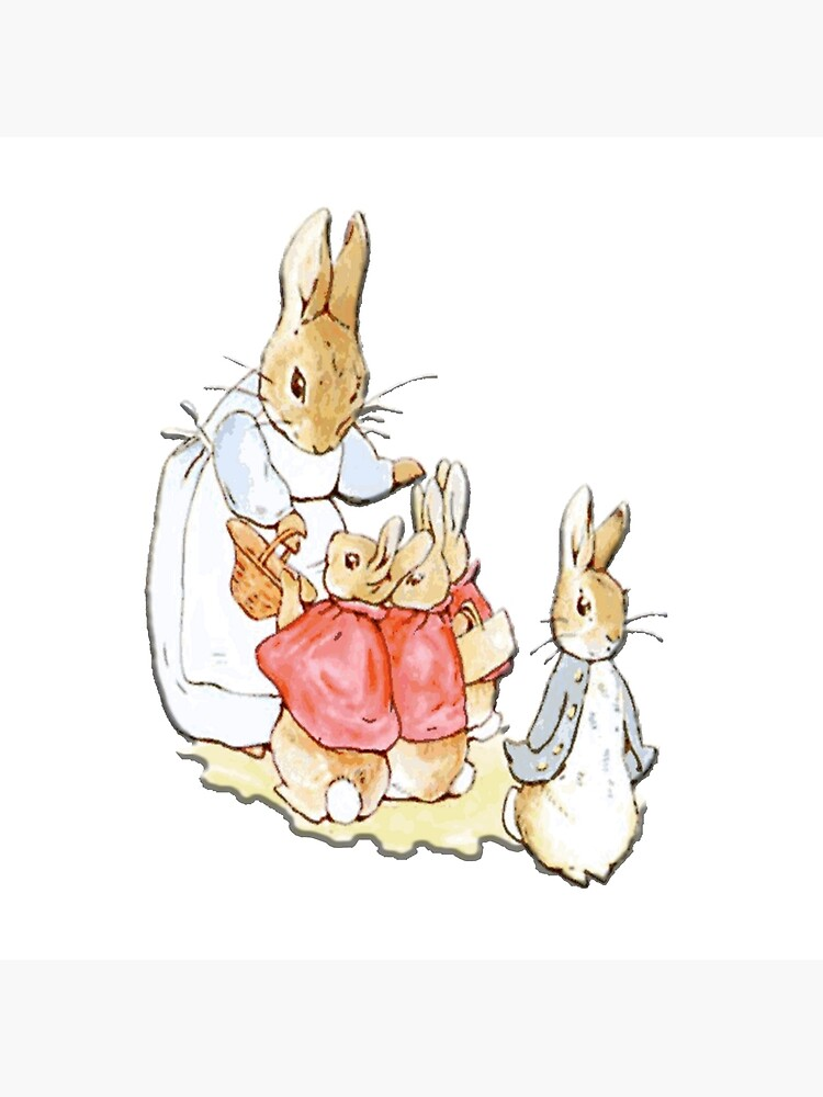 Personajes infantiles, Peter Rabbit, Beatrix Potter de TOMSREDBUBBLE