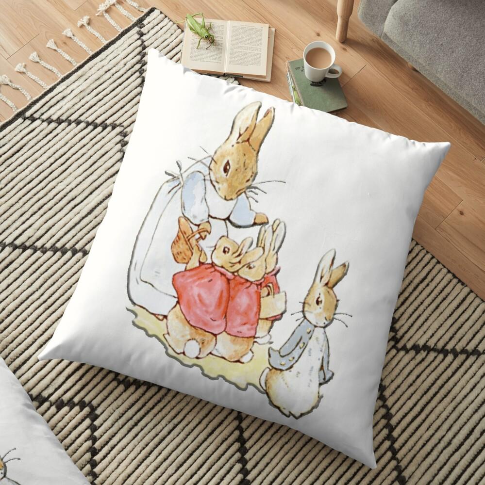 Personajes infantiles, Peter Rabbit, Beatrix Potter Cojines de suelo