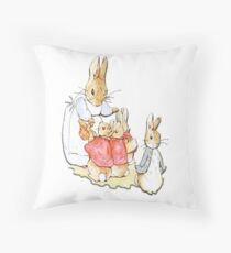 Nursery Characters, Peter Rabbit, Beatrix Potter  Floor Pillow