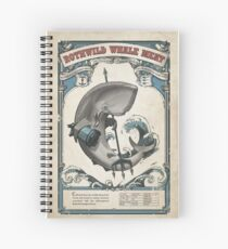 Dishonored Rothwild Whale Meat Spiral Notebook