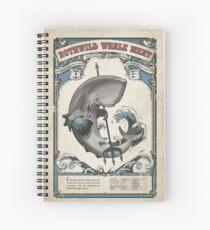 Cuaderno de espiral Carne de ballena Rothwild deshonrada