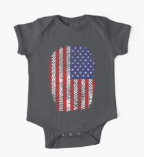 Stars and Stripes thumbprint Kids Clothes