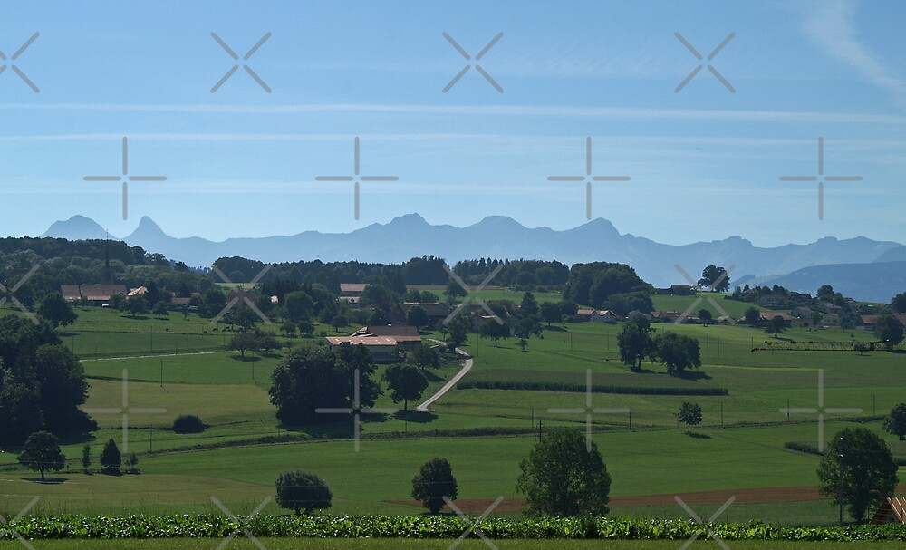 Romont, a town with a view! by poupoune