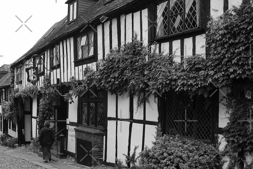 The Mermaid Inn - Rye by Peter Green