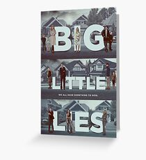 big little lies Greeting Card