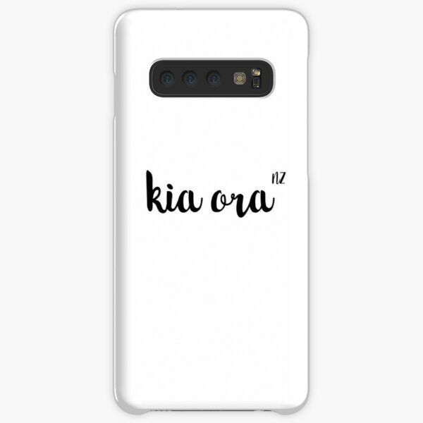 Kia Ora New Zealand - Simple Design  Samsung Galaxy Snap Case