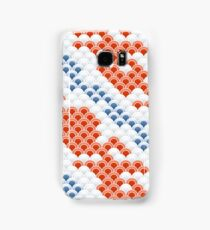 Fish Koi skin blue and red Samsung Galaxy Case/Skin