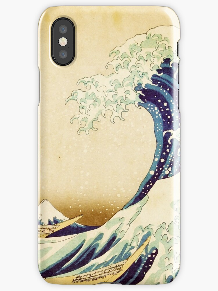 Detail from The Great Wave off Kanagawa Japanese Print by HumanlineImages