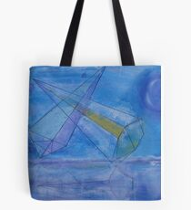 triangles in the sky Tote Bag