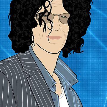 Howard Stern Portrait by nealcampbell