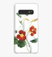 Vintage Flower. Nasturtium Botanical Print. Superb Print Quality Case/Skin for Samsung Galaxy