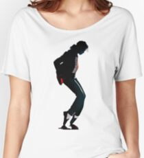 Michael Jackson, magic foot Women's Relaxed Fit T-Shirt