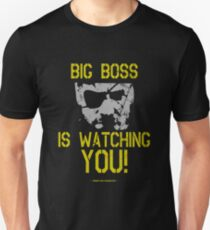 Metal Gear Solid - Big Boss Is Watching YOU! Unisex T-Shirt