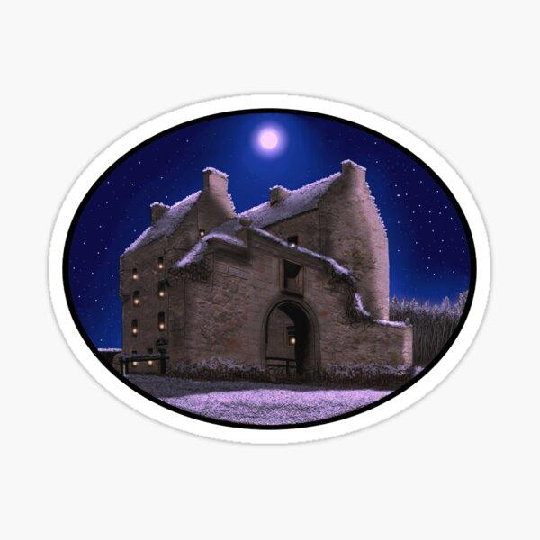 Lallybroch Midhope Castle Winter Sticker