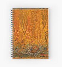 Buddha surfing the Truth Spiral Notebook