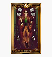 Ghostbusters Tarot - The Emperor Photographic Print