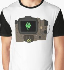 You Picked up a Skyrim Holotape Graphic T-Shirt