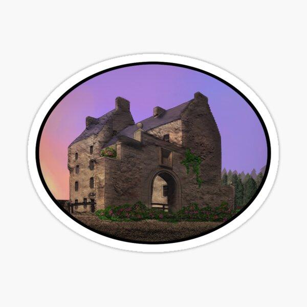 Lallybroch Midhope Castle Spring Sticker