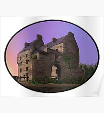 Lallybroch Midhope Castle Spring Poster