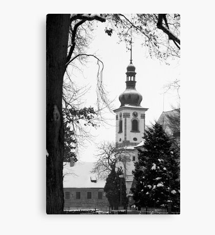 Chapel of the Revelation of the Lord, Smirice, Czech Republic Canvas Print