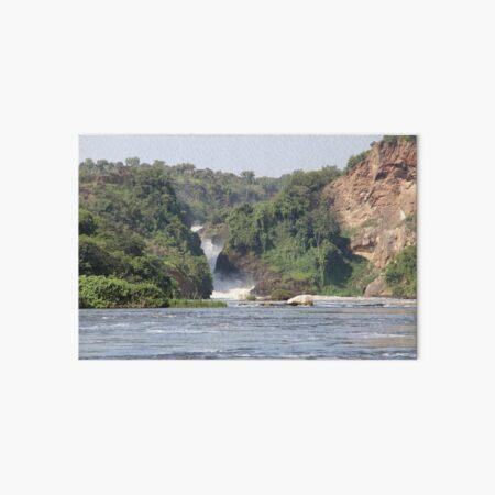 Uganda Murchison Falls National Park River Waterfall Wasserfall Fluss Nil Galeriedruck