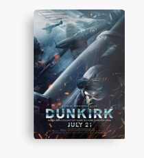 Official poster 3 (Jack Lowden) - DUNKIRK Metal Print