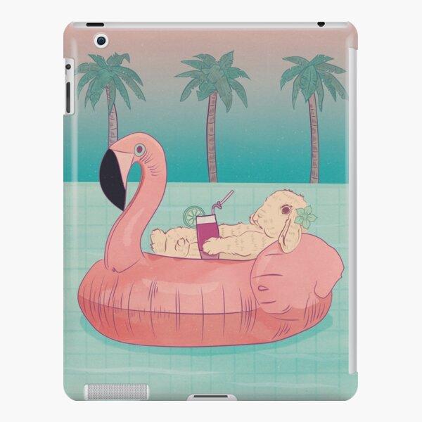 Summer Holiday Rabbit iPad Snap Case