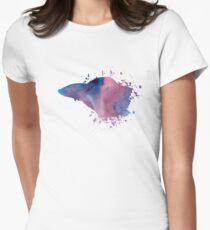 Siamese fighting fish (Betta splendens) Women's Fitted T-Shirt