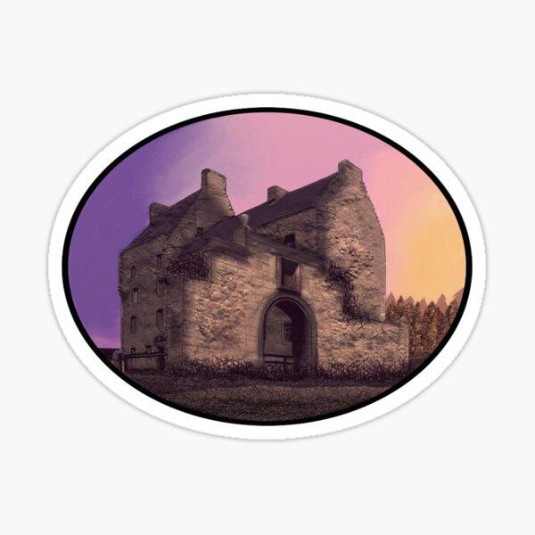 Lallybroch Midhope Castle Autumn Sticker