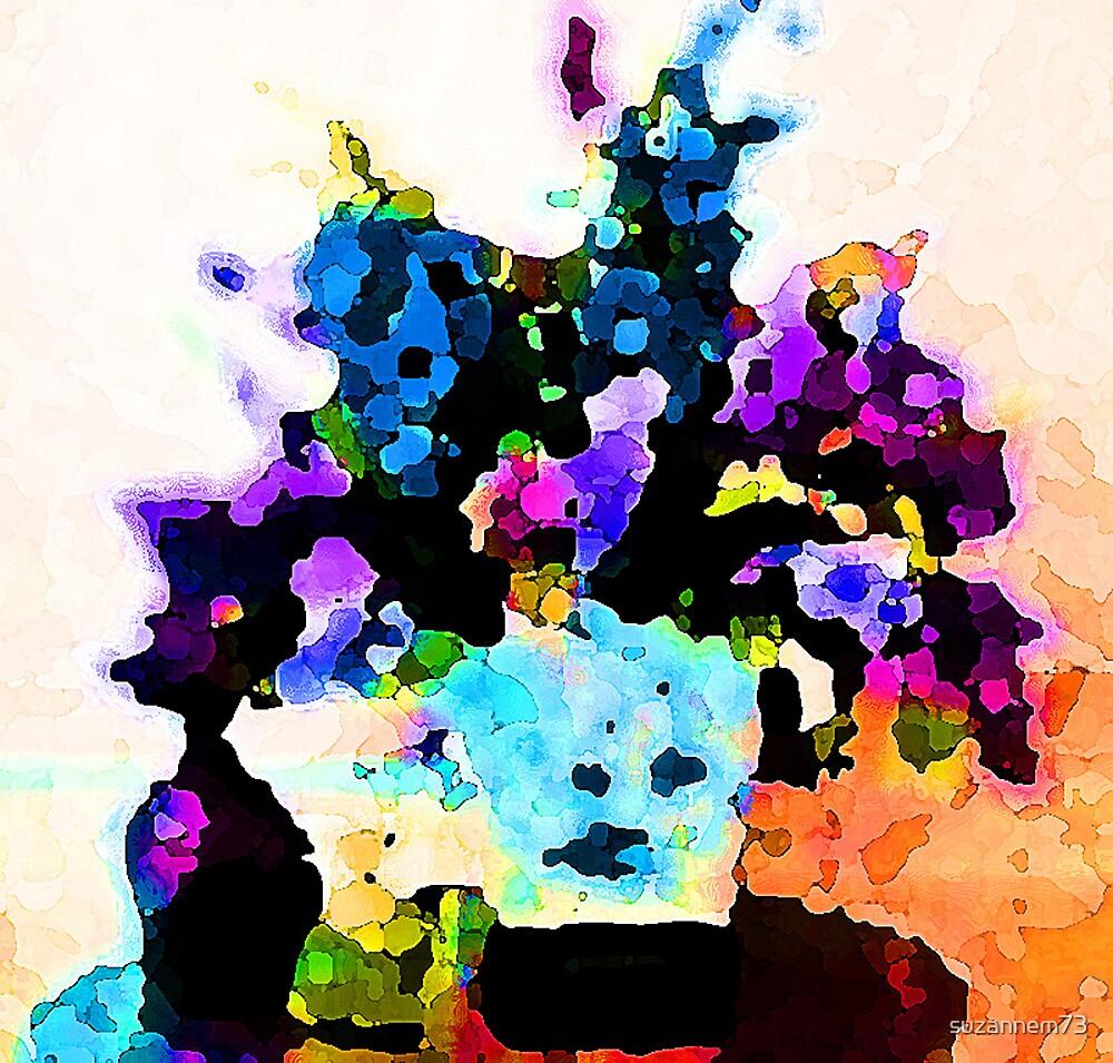 Rainbow Flowers by suzannem73