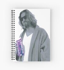 69 cent.  Jeffrey Lebowski shopping for Half & Half Spiral Notebook