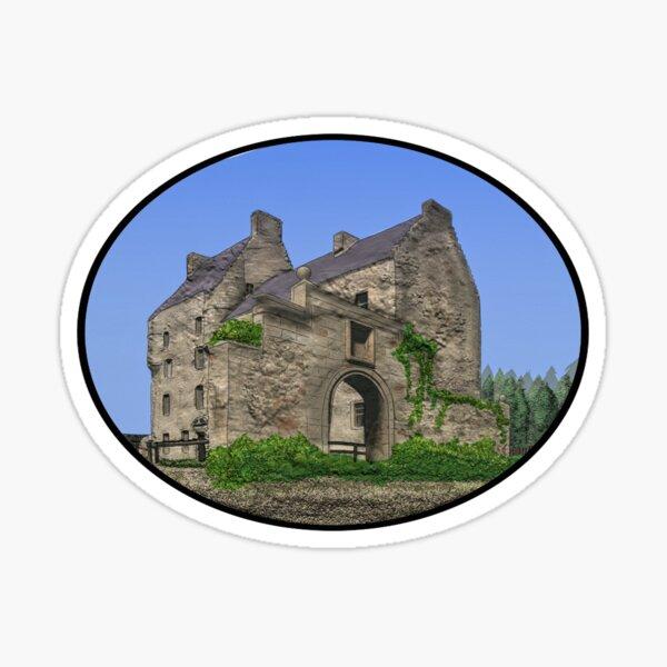 Lallybroch Midhope Castle Summer Sticker